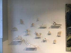"""J. Trautwein- """"Heckenwesen"""" Skulpturen"""